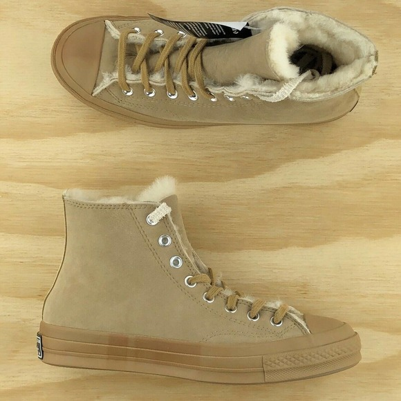 Converse Chuck Taylor 70 Shearling Lined Sneakers